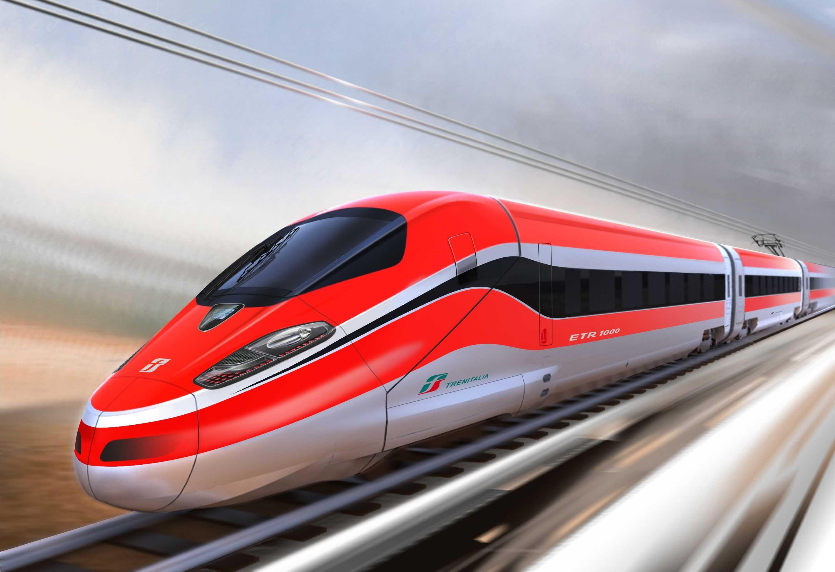 ETR 500 Frecciarossa italian high-speed train
