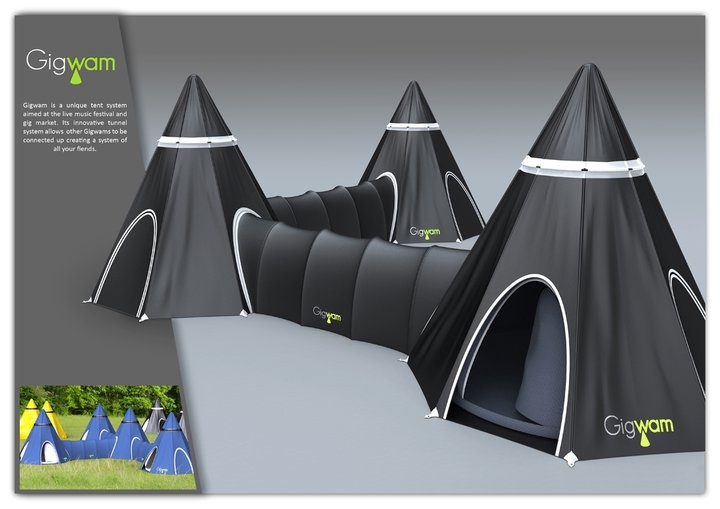 Gigwam Tent Giveaway social network tent & Top 10 Creative Camping Tents - PRE-TEND Be curious.