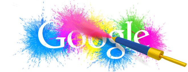 Holi Festival 2014 google doodle copy