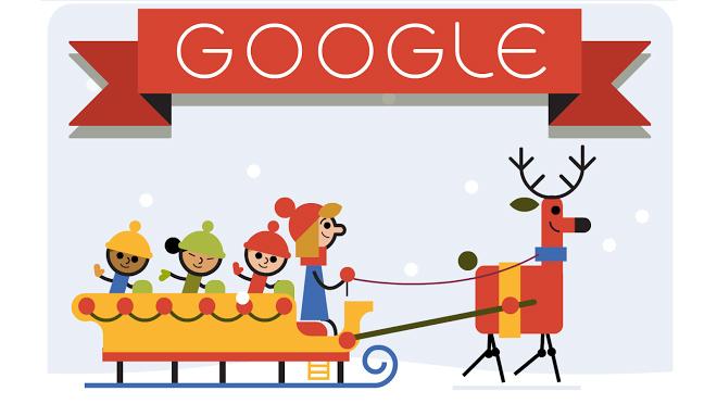 Holidays 2014 (Day 1) google doodle