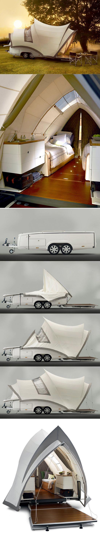 Opera designed tent