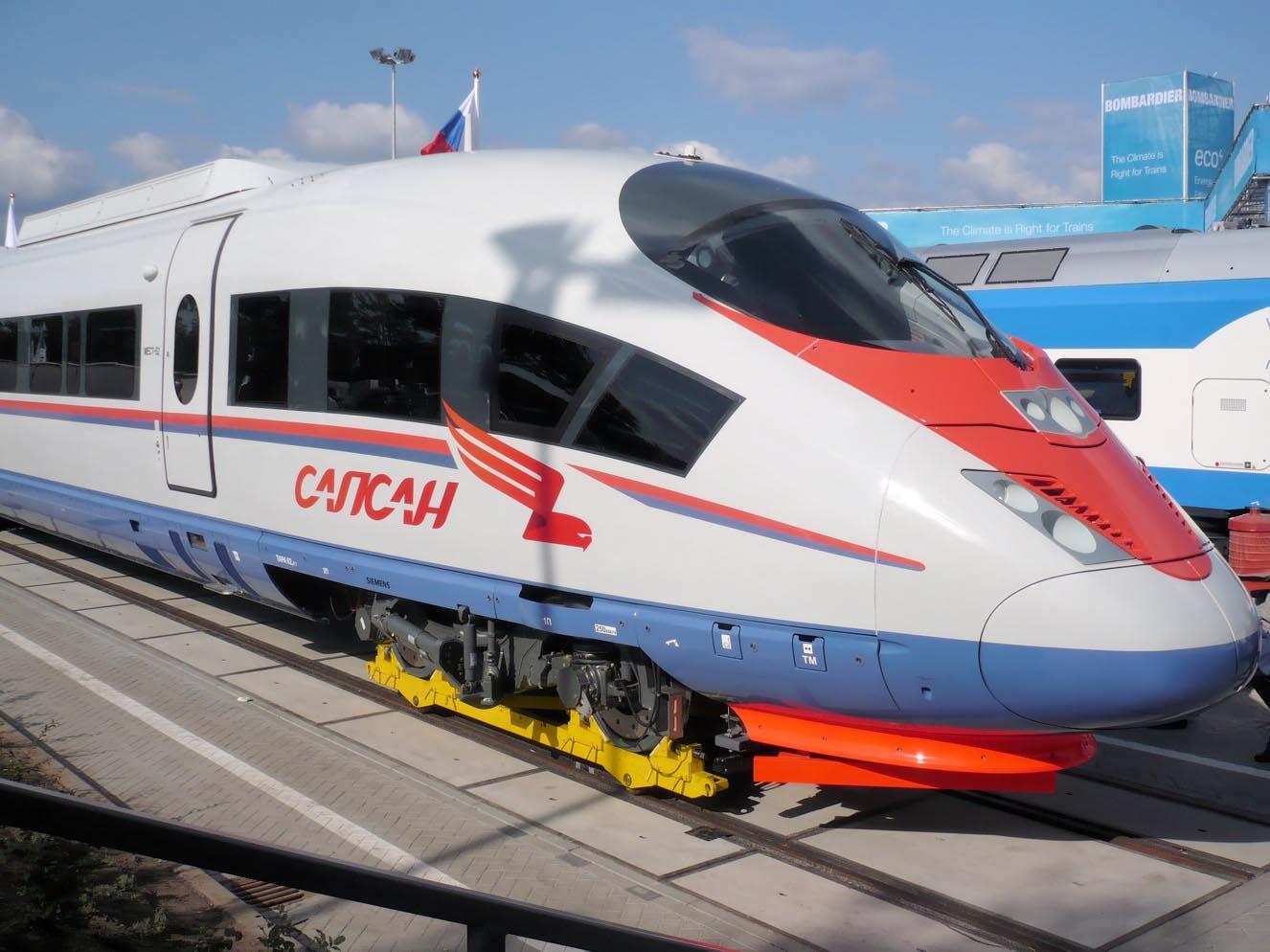 Siemens Velaro RUS Russian high-speed train