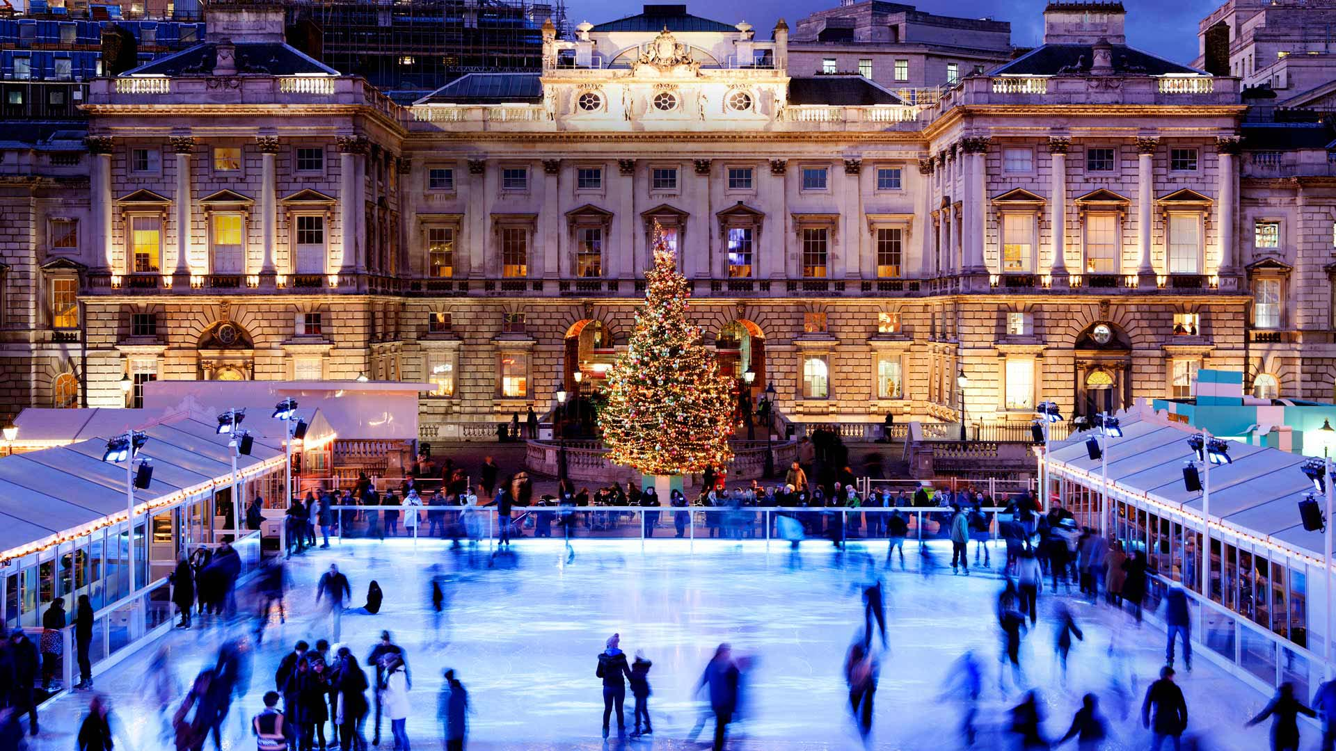 outdoor ice rinks all over the world pre tend be curious