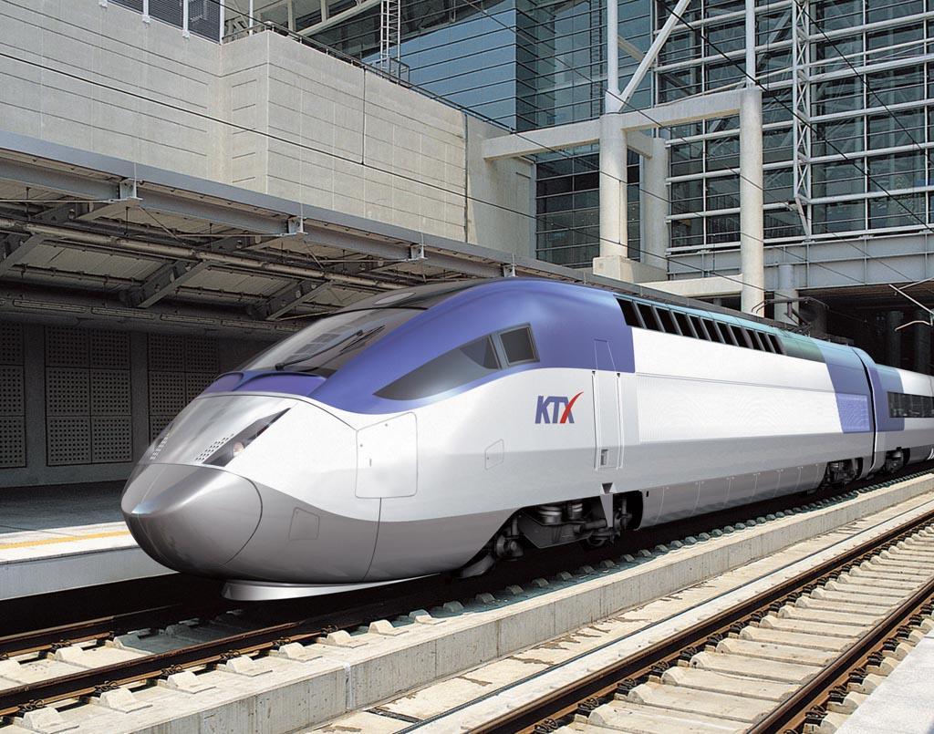 South Korea Train KTX-I