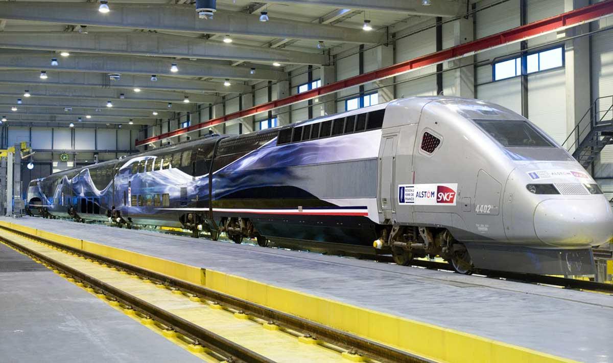 TGV V150  France high-speed train