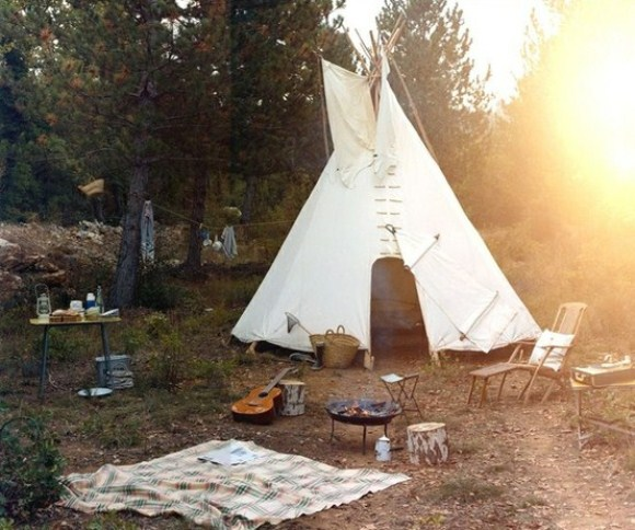 Teepee Camping tent