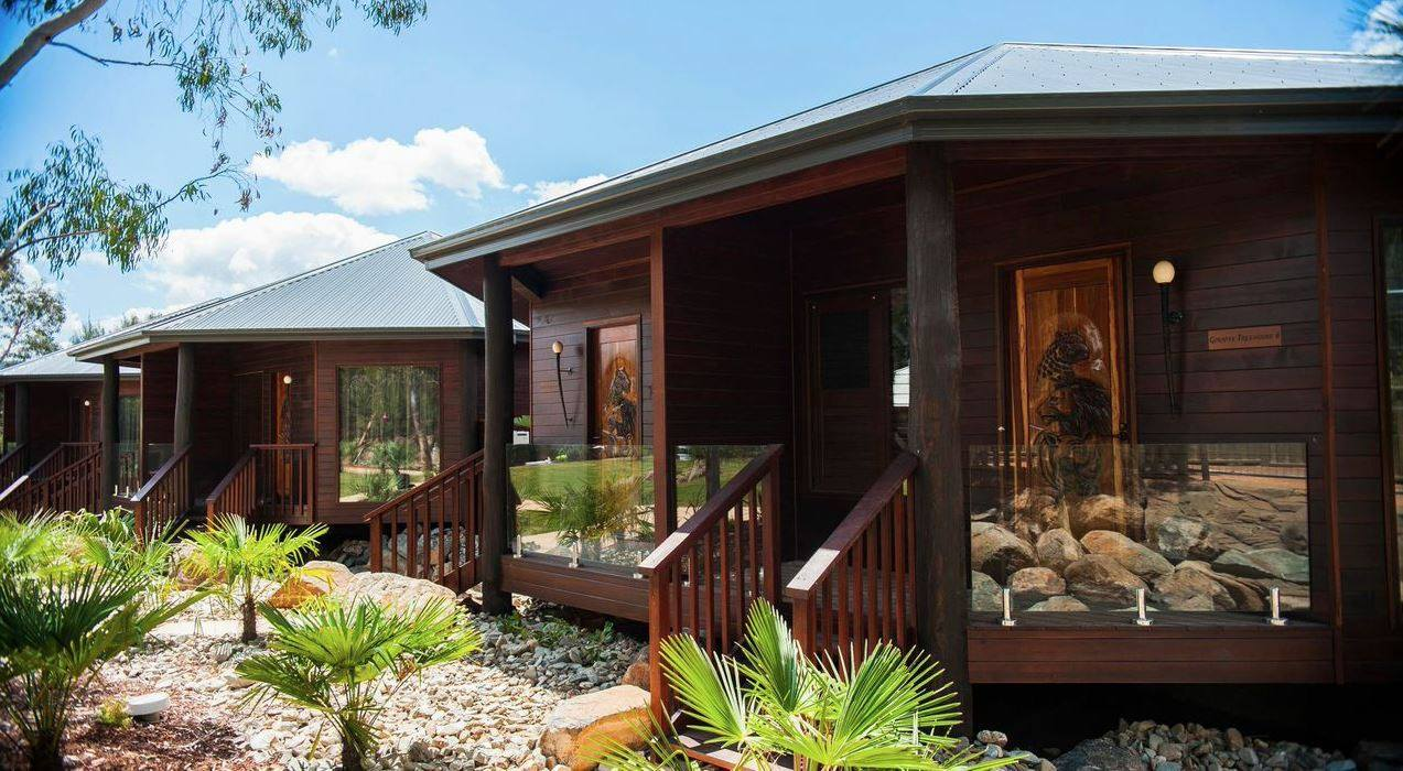 The Jamala Wildlife Lodge bungalows