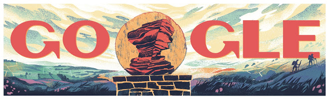 The Peak District becomes Britain's 1st National Park google doodle