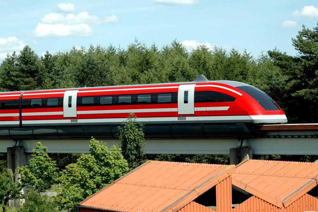 Transrapid TR-07 Germani hugh-speed train