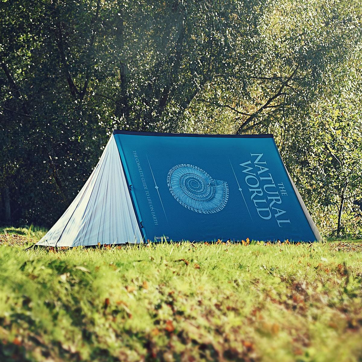 creative designed tents Book tent