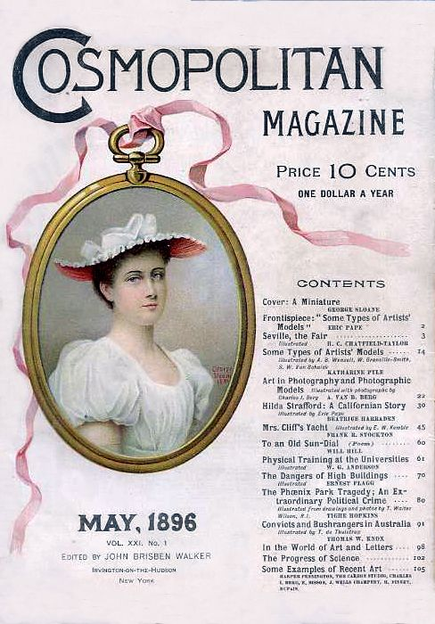 Cosmopolitan Magazine Cover - May 1896