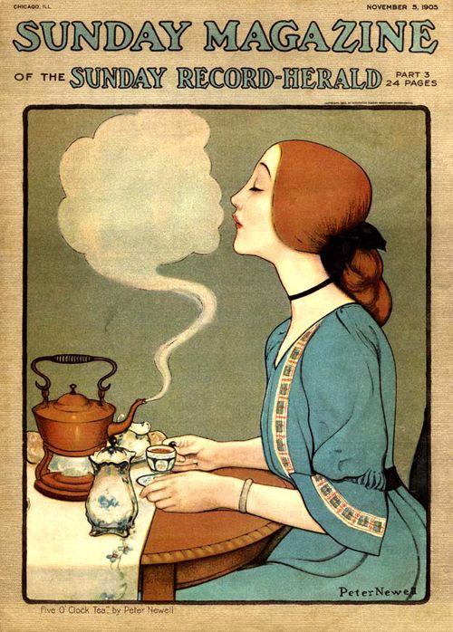 1 Vintage Sunday magazine cover 1905