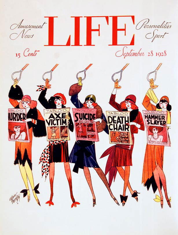 10 Life Magazine, September 28, 1928 artist Russell Patterson