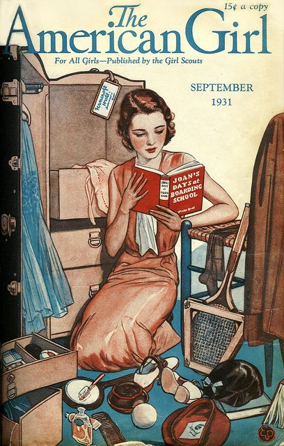 12 Vintage Magazine Cover - September 1931