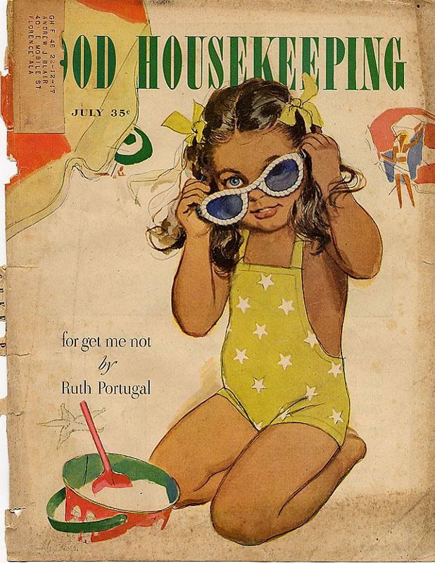 14 Vintage Good Housekeeping Magazine July 35