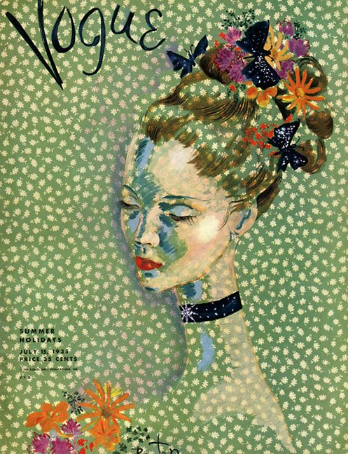 14 vintage Vogue magazine cover 1935