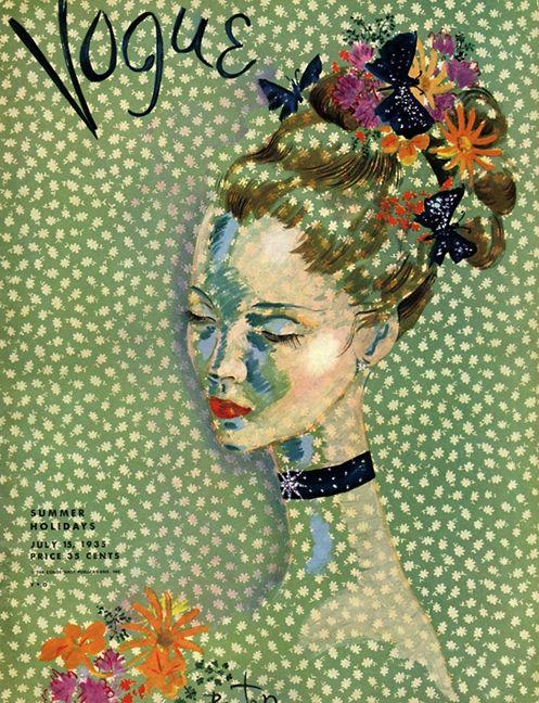 14 vintage Vogue magazine cover 1935