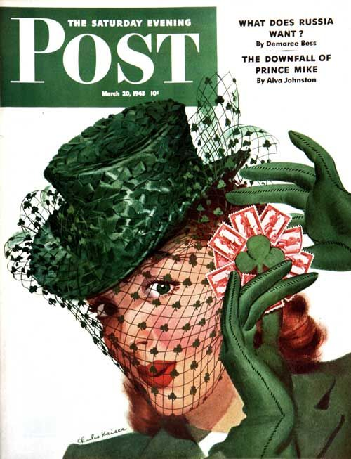 16 The saturday evening post magazine cover 1943