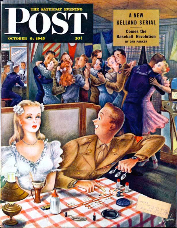 17 saturday evening post 1945
