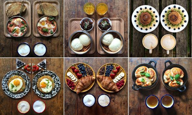 All kind of breakfasts