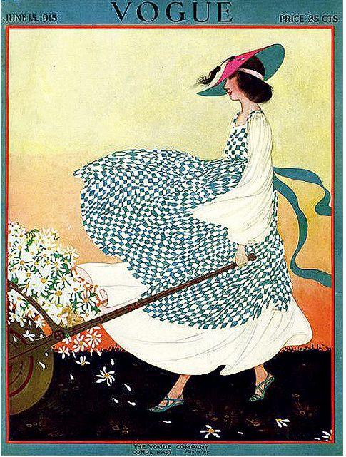 3 Vintage Magazine Cover - June 1915