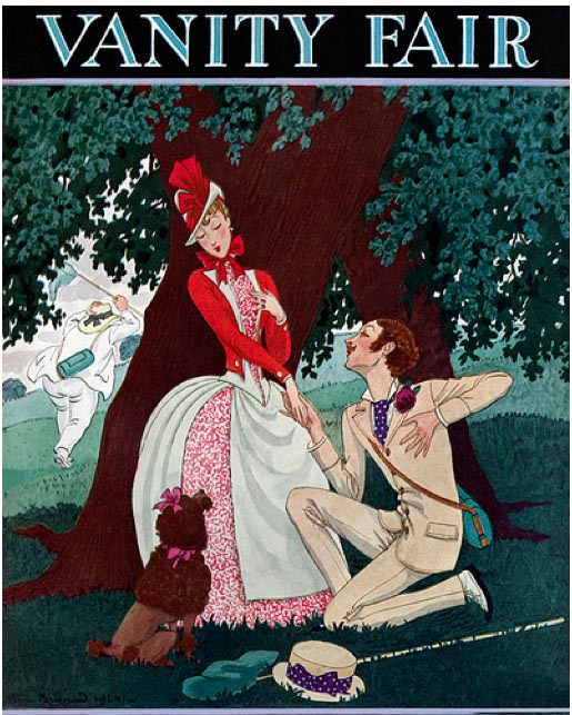 7 VANITY FAIR magazine cover APRIL 1925