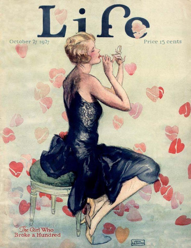 9 LIfe magazine cover 1927. John LaGatta. (1894-1977)