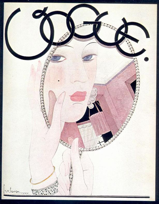 9 Vogue, November 1927 artist George Lepape