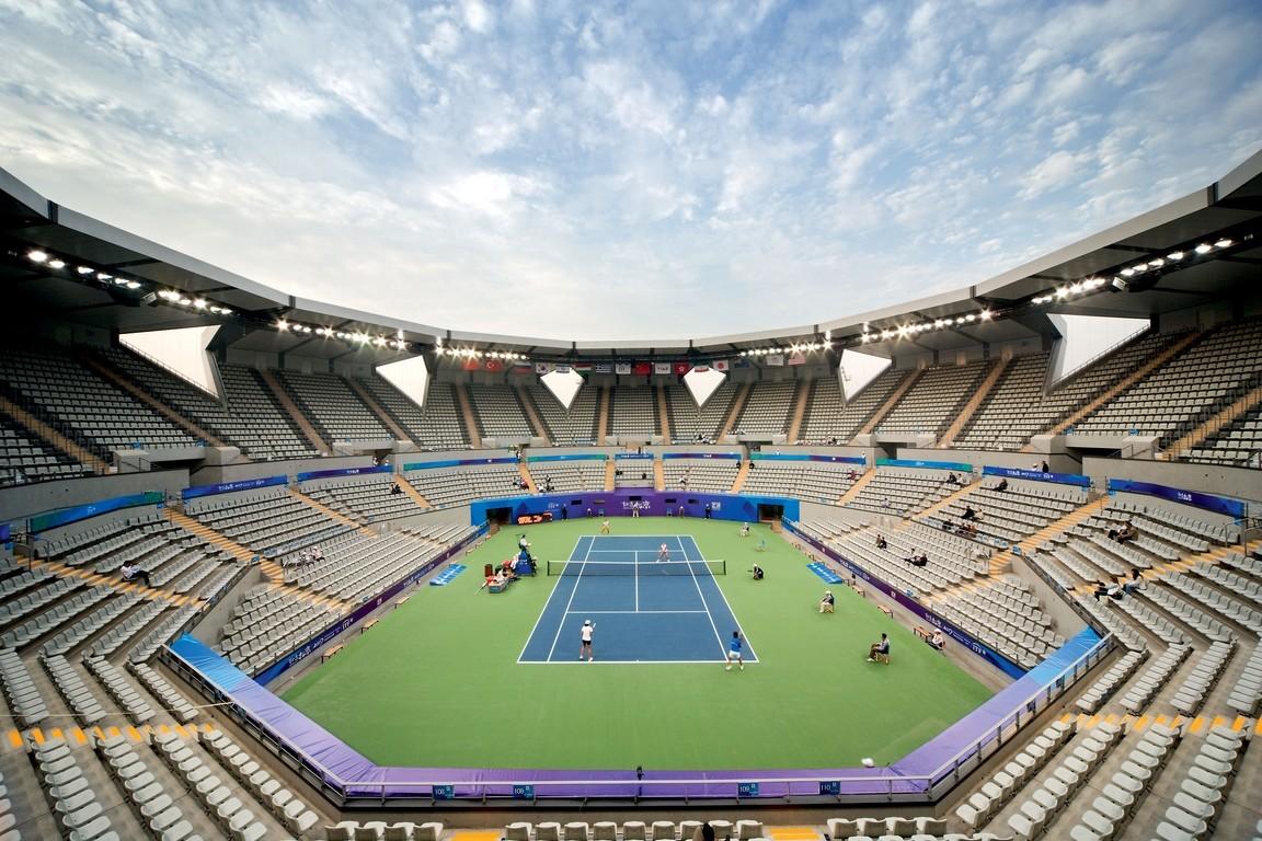 Bird's Nest National Stadium in Beijing inside 1
