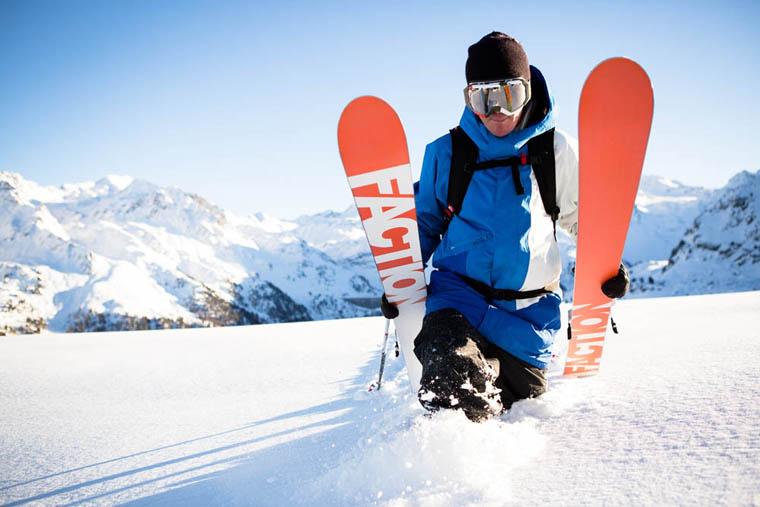 CANDIDE THOVEX ski