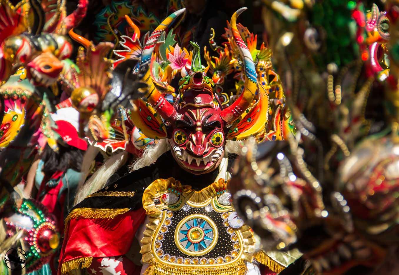 Carnival in Oruro Bolivia