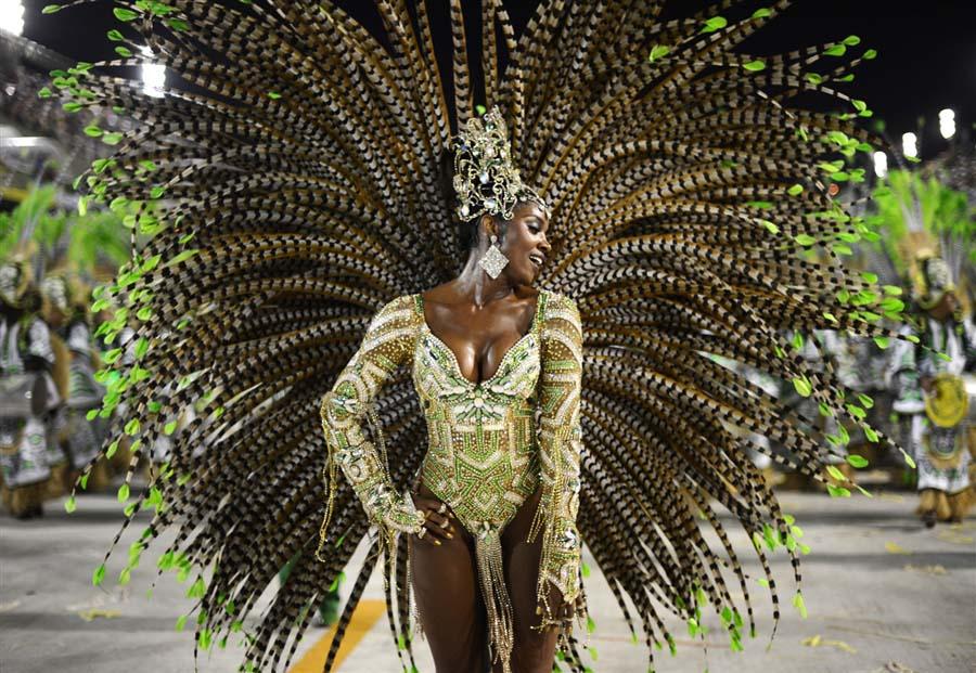 Carnival in Rio in Brazil 1