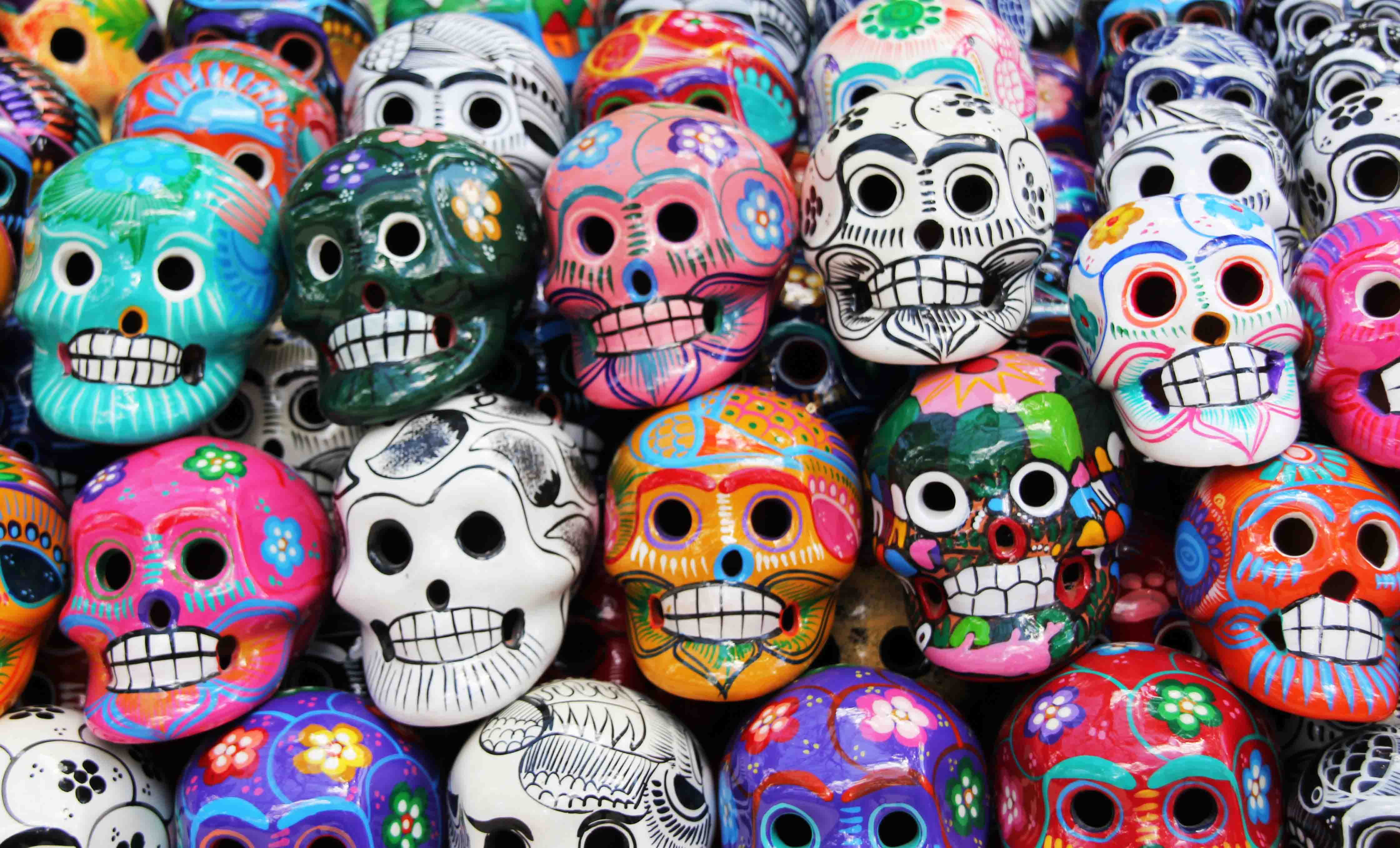 Day of the Dead skulls copy