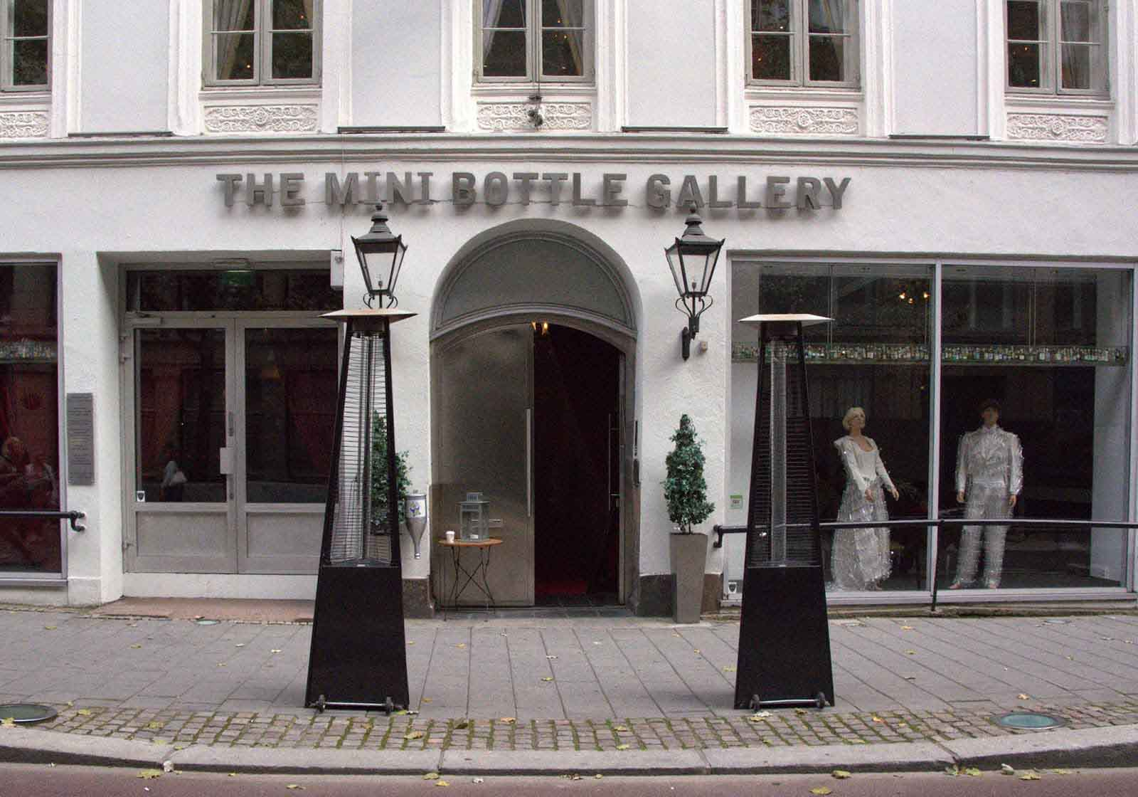 Gallery of mini bottles Oslo