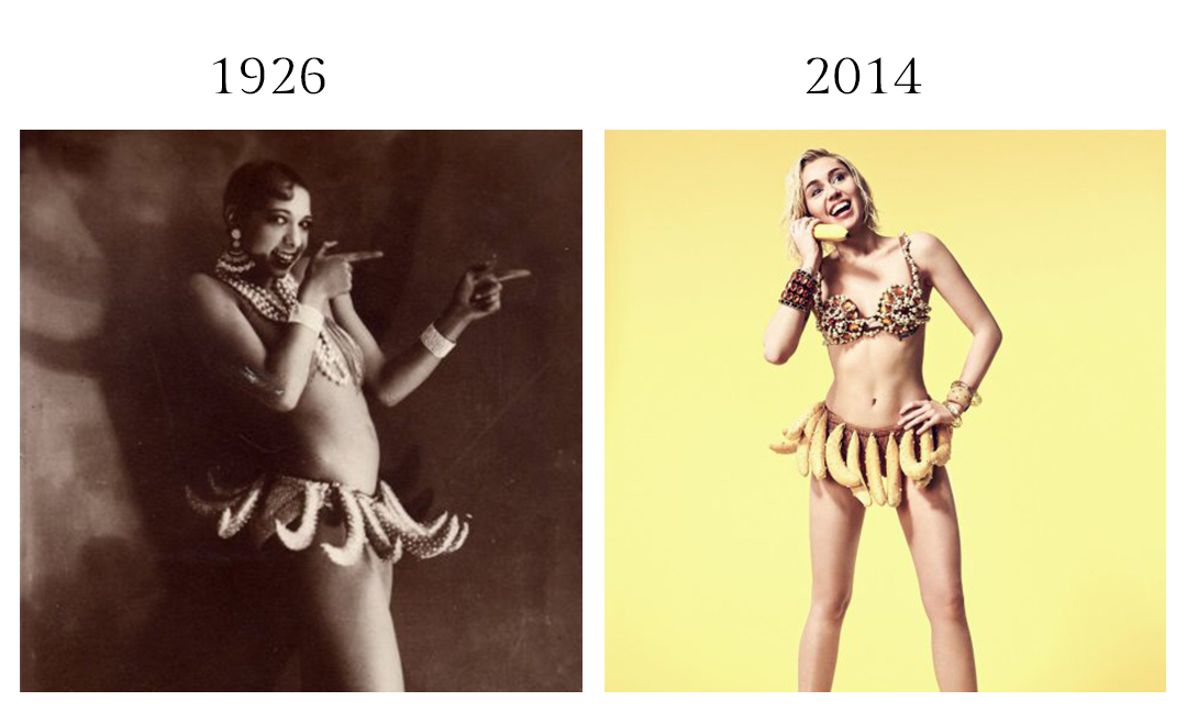 Josephine Baker and Miley
