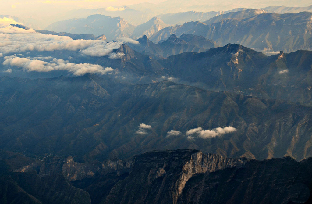 Mexican valley Sierra Madre del Sur