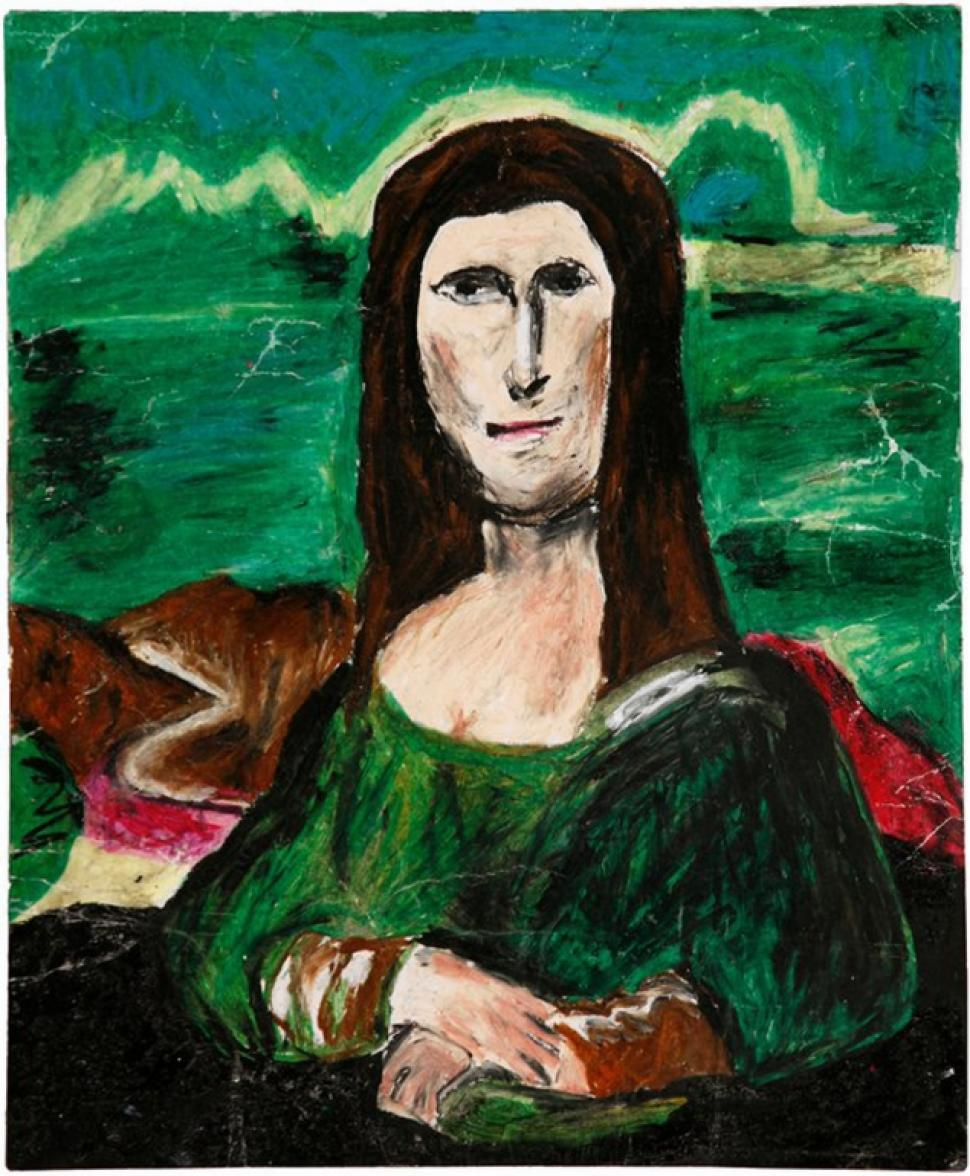Museum of Bad Art  Mona Lisa