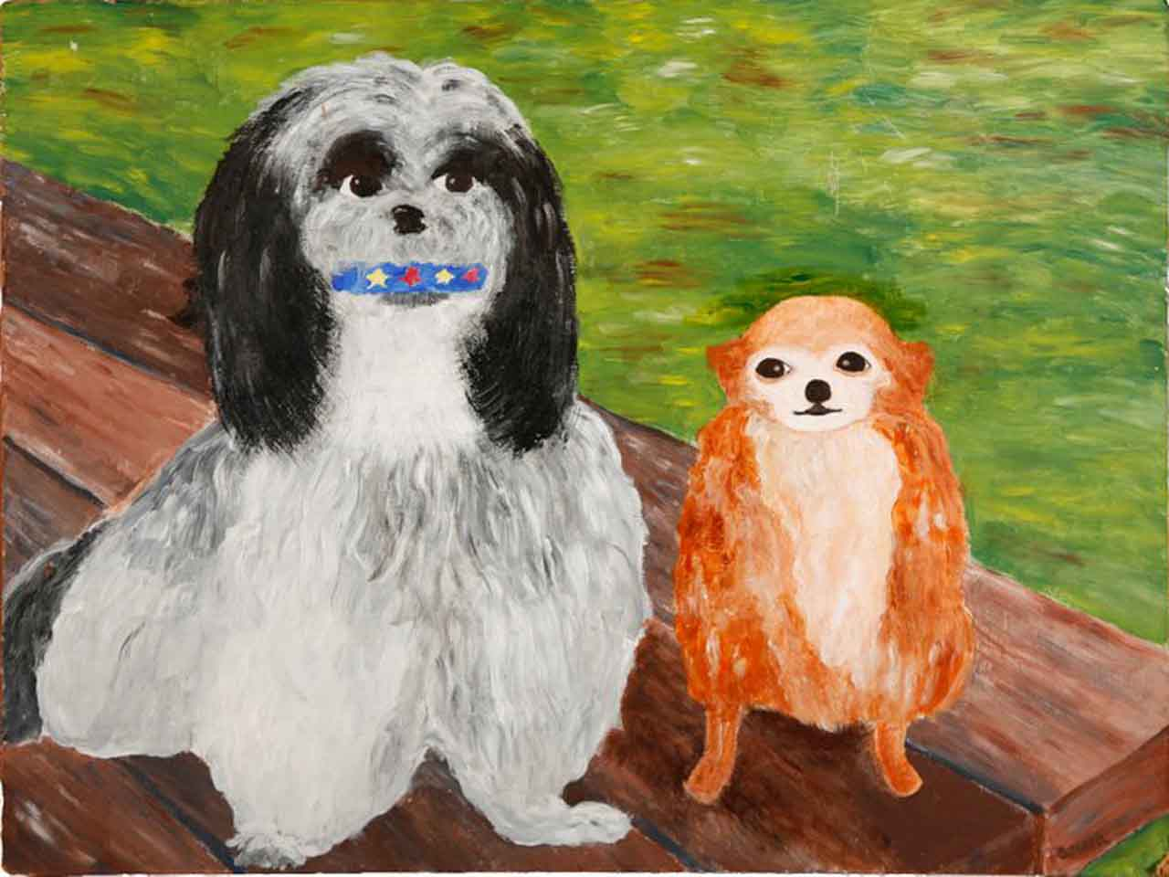 Museum of Bad Art dog Painting museums