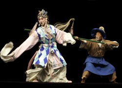Peking Opera scene