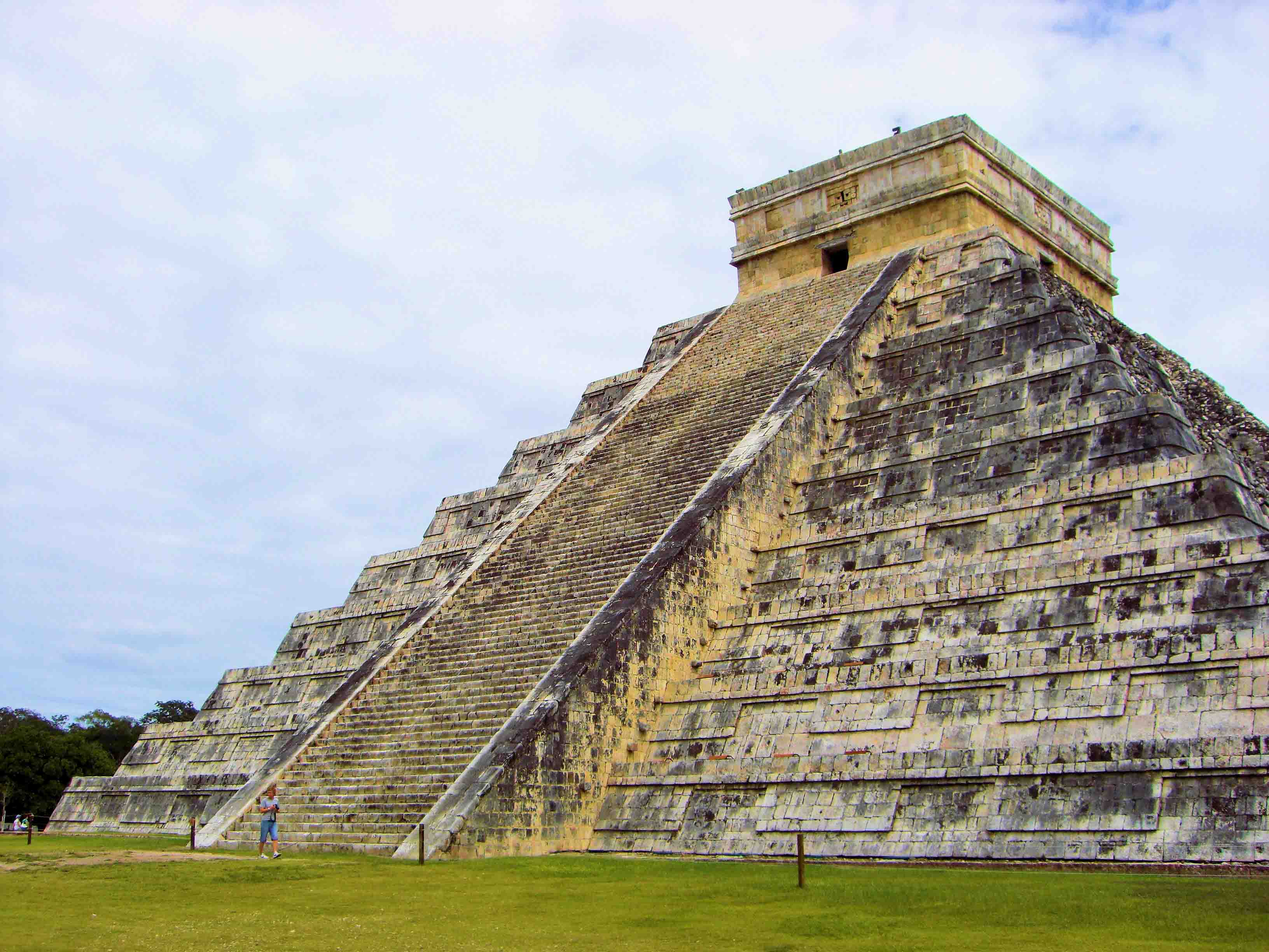 Pyramid of the Magician in Mexico 2