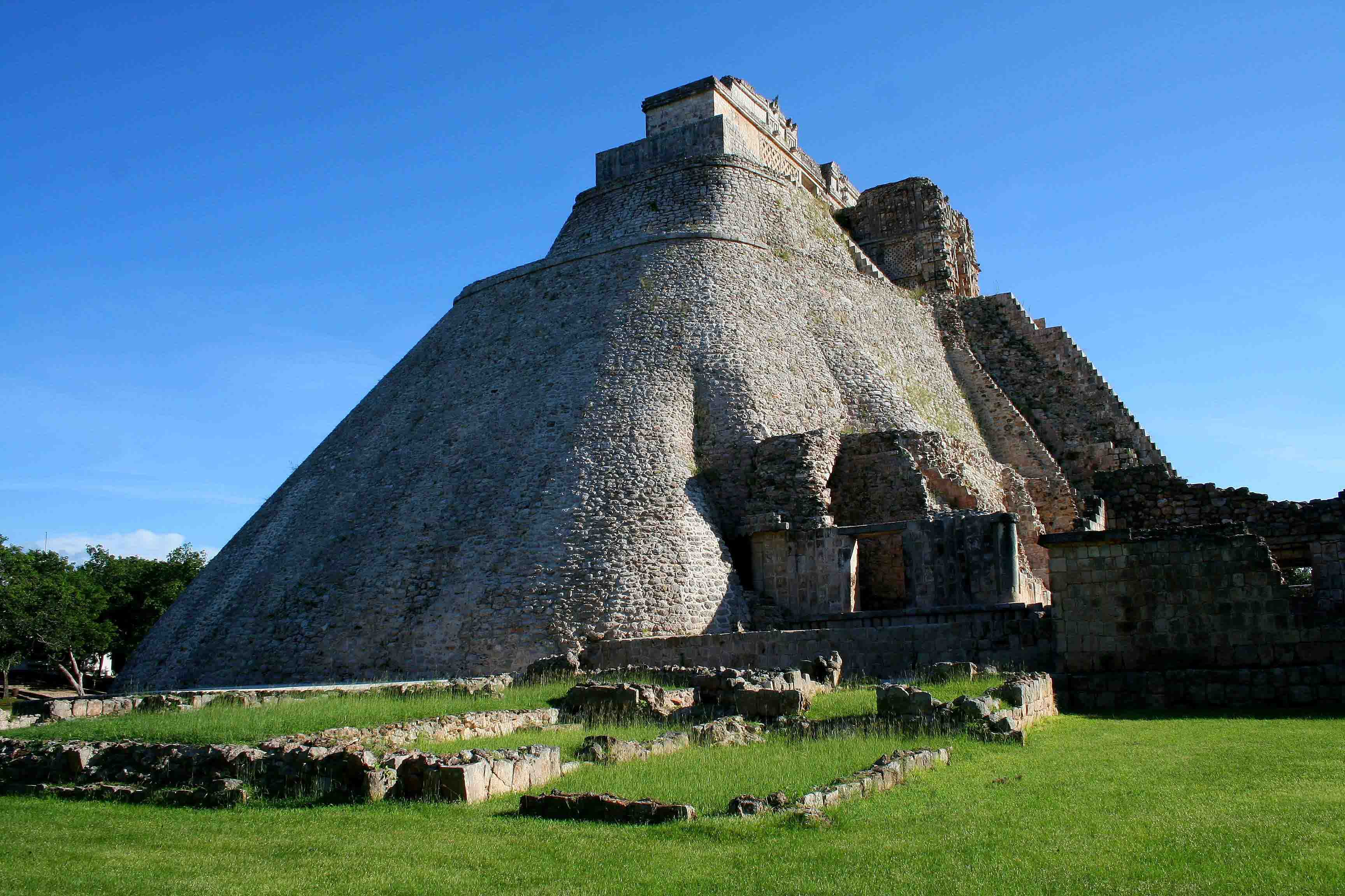 Pyramid of the Magician in Mexico