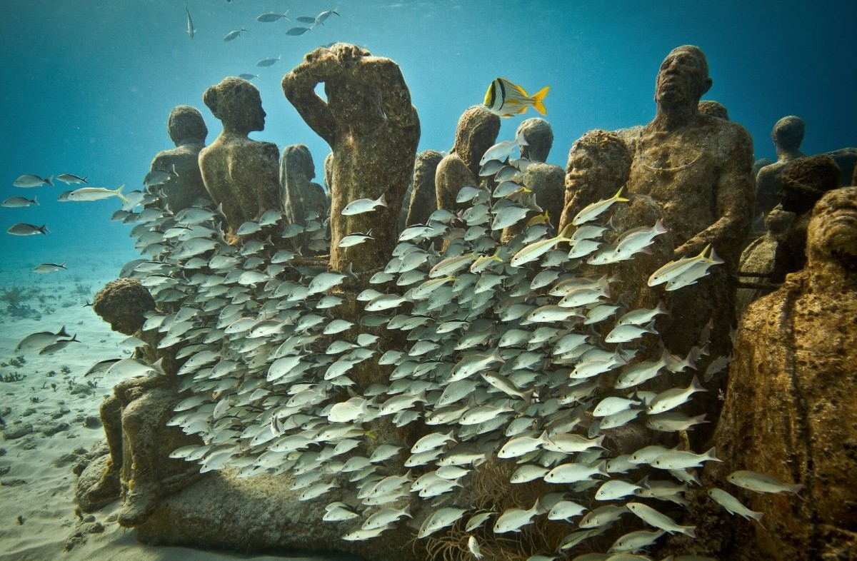 Underwater Museum in Cancun