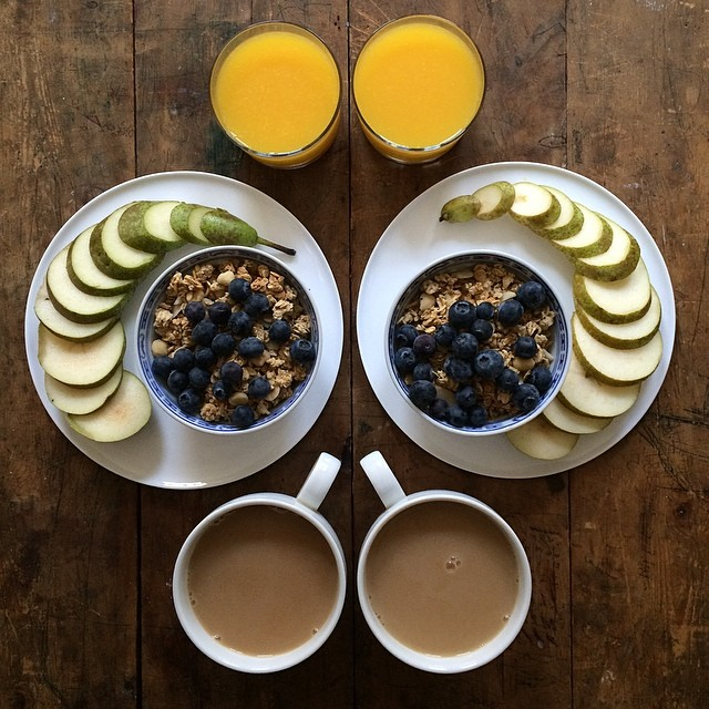 breakfast made with love