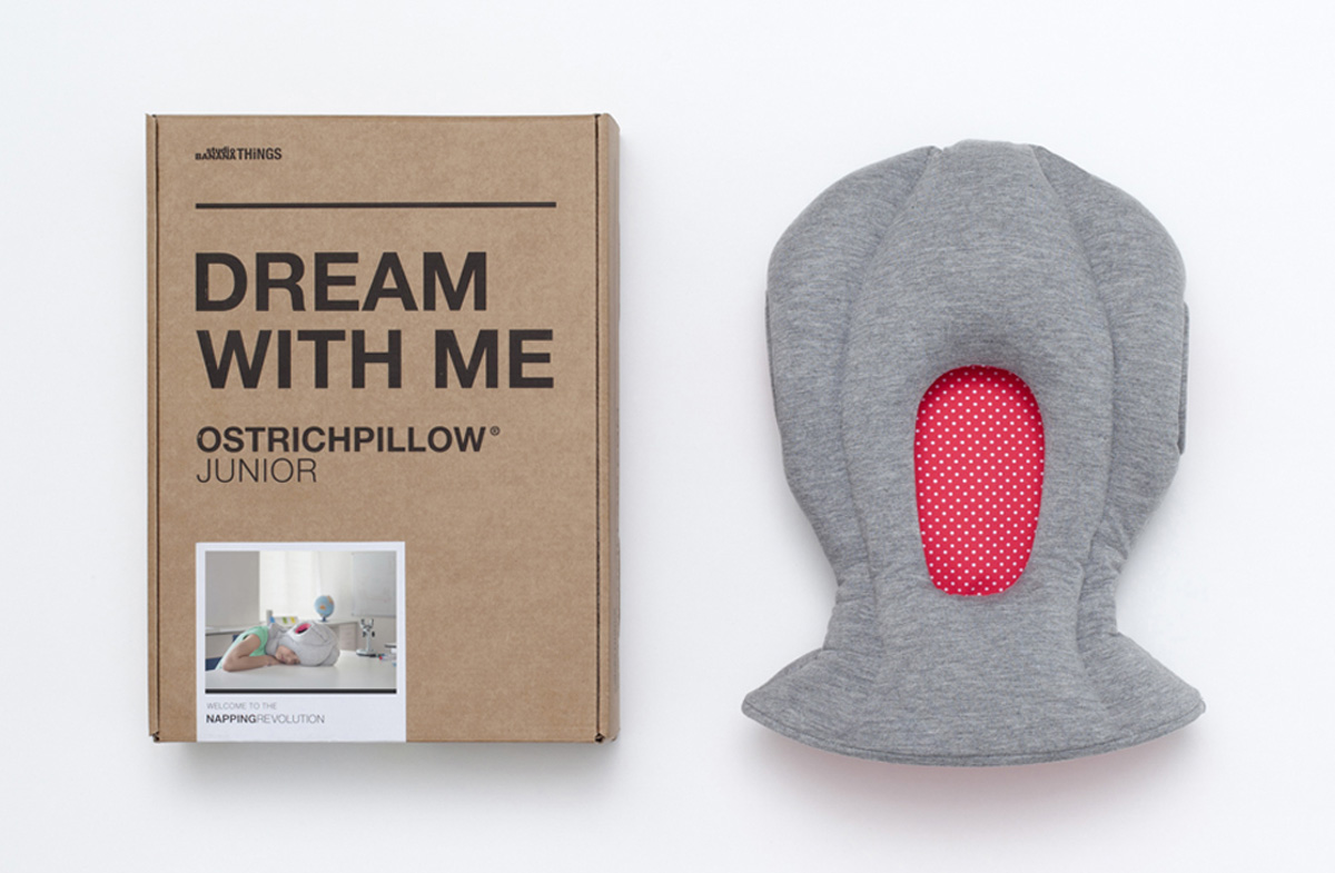 ostrich-pillow dream with me