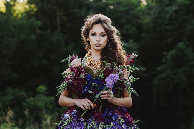 A DRESS MADE OF FLOWERS 2