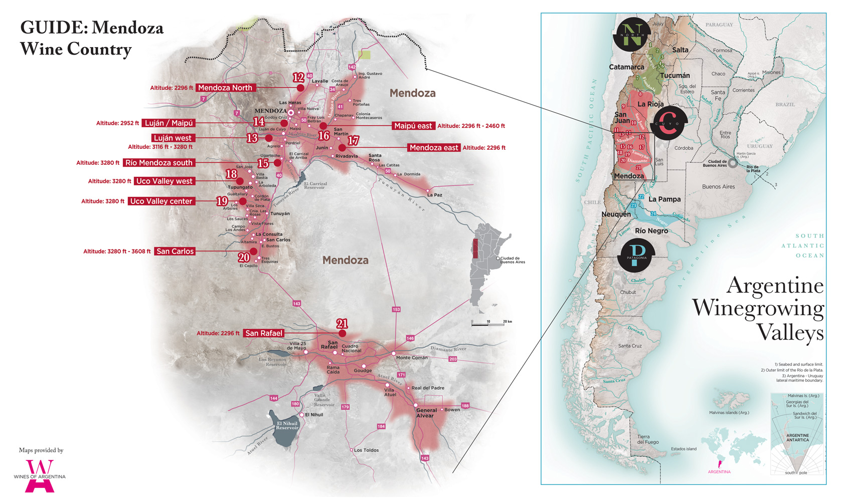 Argentina-Wine-Country-Guide map