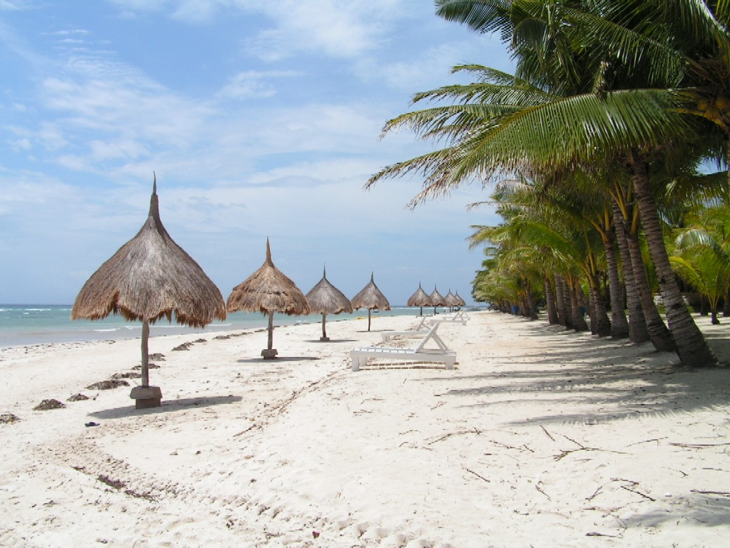 Bohol beach in Philippines
