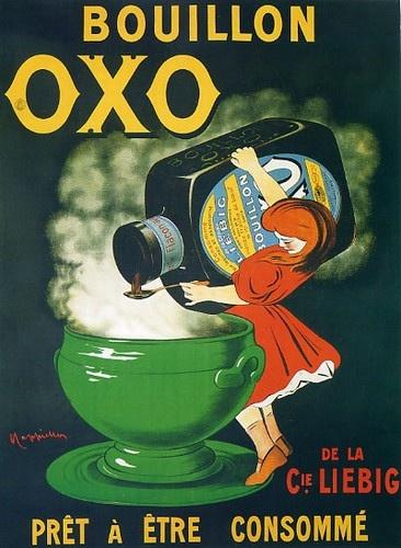 Bouillon OXO Cappiello PRET A ETRE CONSOMME