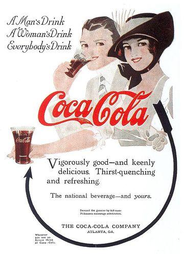 Coca-Cola ad, 1914