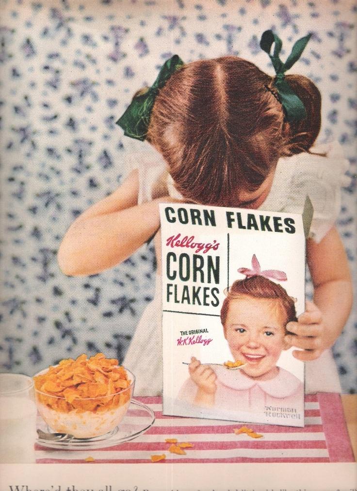 Corn Flakes Kellogg's ad